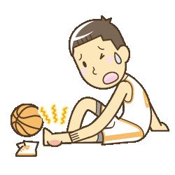 スポーツ障害イラスト